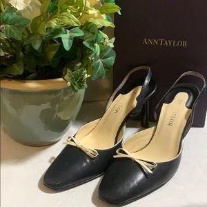 ANN TAYLOR WOMEN POINTY HEELS SHOES